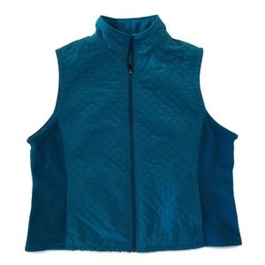 Columbia Women's XL Turquoise Quilted Vest